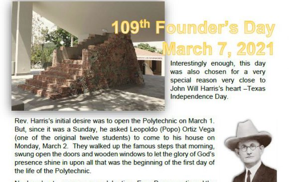 109th Founder's Day